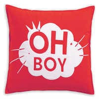 Image of Mickey Mouse Oh Boy Pillow by Ethan Allen # 2