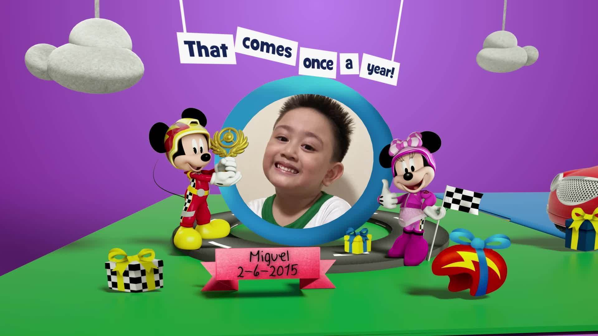 Disney Junior Birthday Book 2021 June Album 10