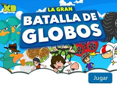 La gran batalla de globos