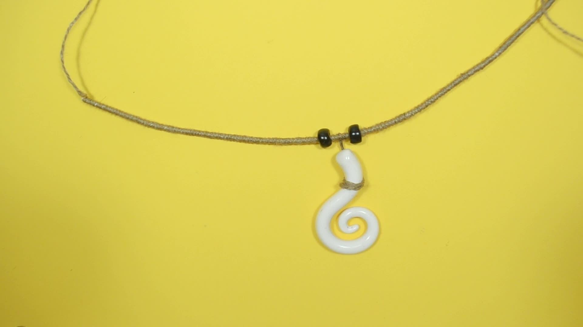 Un collier pour partir à l'aventure avec Vaiana