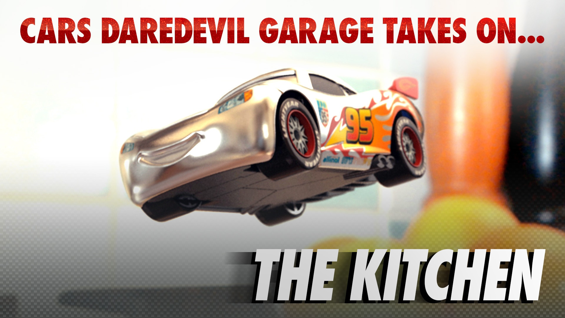 Cars Daredevil Garage: Silver Racers - The Kitchen