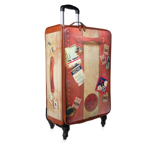 Disney Tag Vintage Rolling Luggage 28 Shopdisney