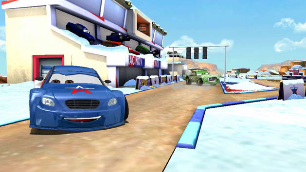 Cars: Fast as Lightning - Moscow ICE Game Update