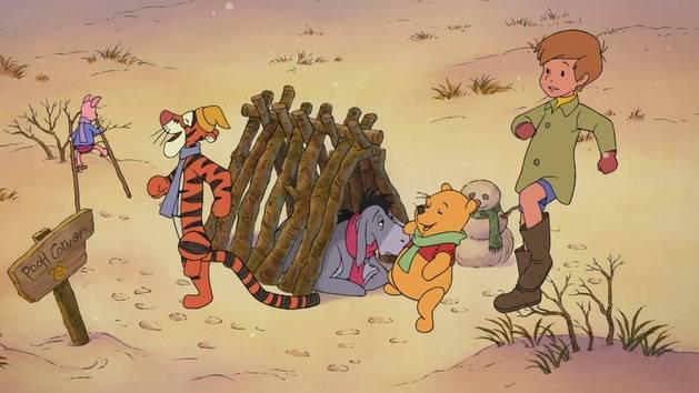 House at Pooh Corner | The Mini Adventures of Winnie The Pooh