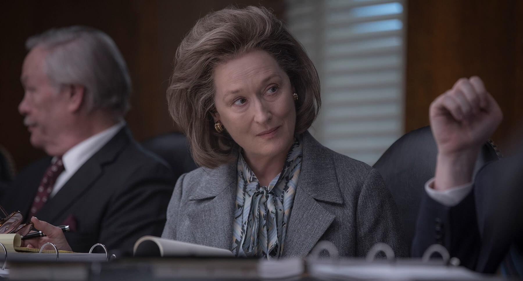 "Actress Meryl Streep as Kay Graham in ""The Post"""