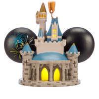 Image of Cinderella Castle Light-Up Ear Hat Ornament - Walt Disney World # 3