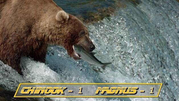 Disneynature Bears & ESPN Present: Salmon Run Invitational - Oh My Disney