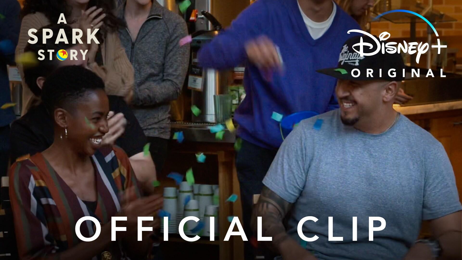Official Clip | A Spark Story | Disney+
