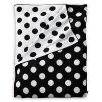 Image of Minnie Mouse Dotty Stroller Blanket by Ethan Allen # 1