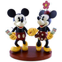 Image of Pie-Eyed Minnie and Mickey Mouse Figure # 1