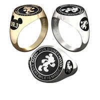 Image of Mickey Mouse runDisney Ring for Women by Jostens - Personalizable # 1