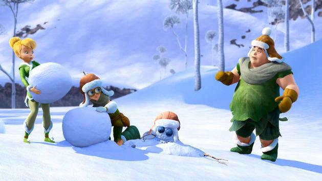 Tinkerbell en het geheim van de Vleugels - Hoe maak je een sneeuwpop?