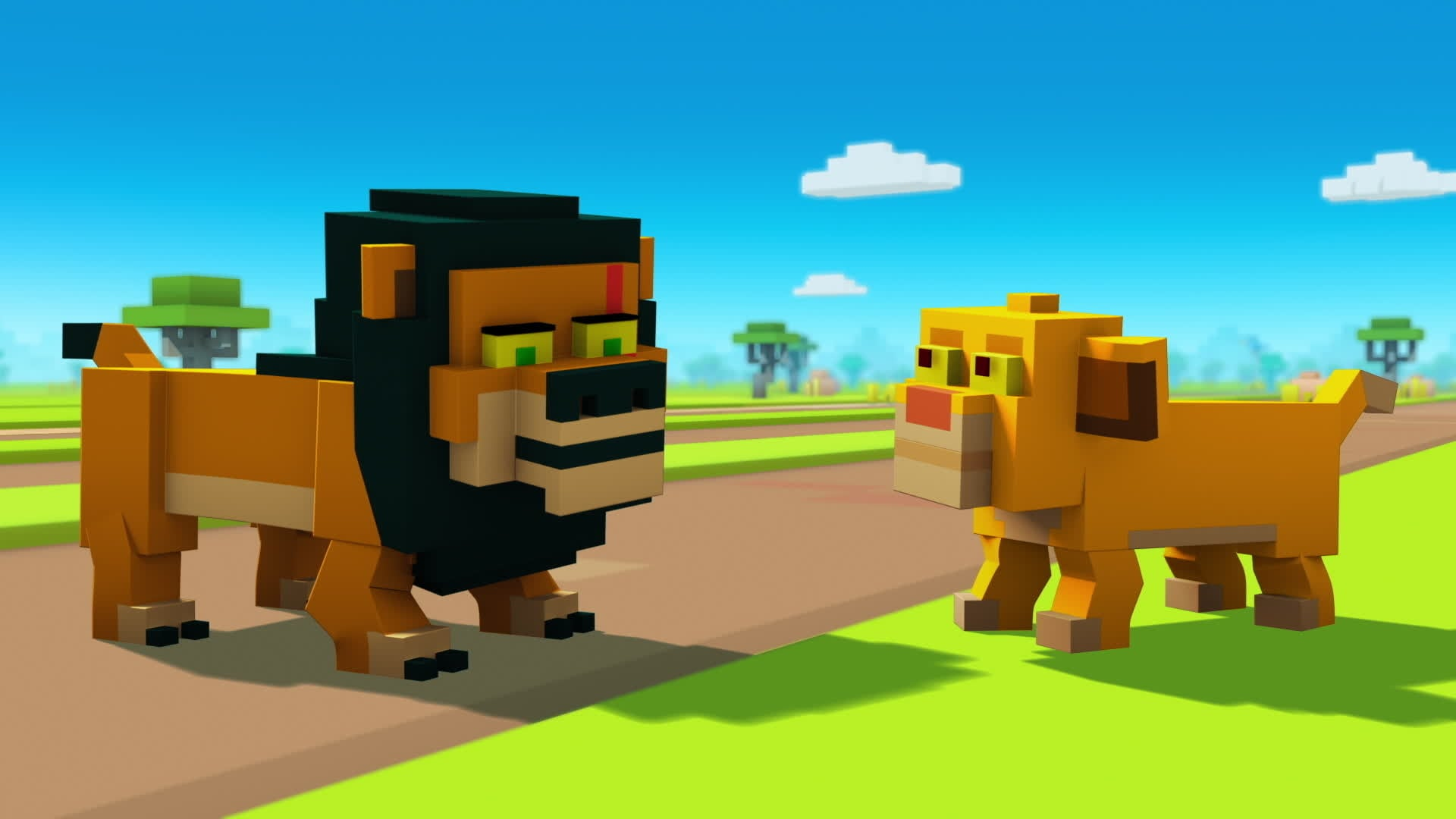 Disney Crossy Road: Hyena Havoc