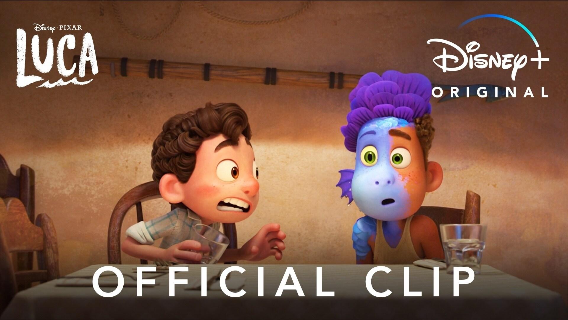 Sea Monsters | Disney and Pixar's Luca | Disney+