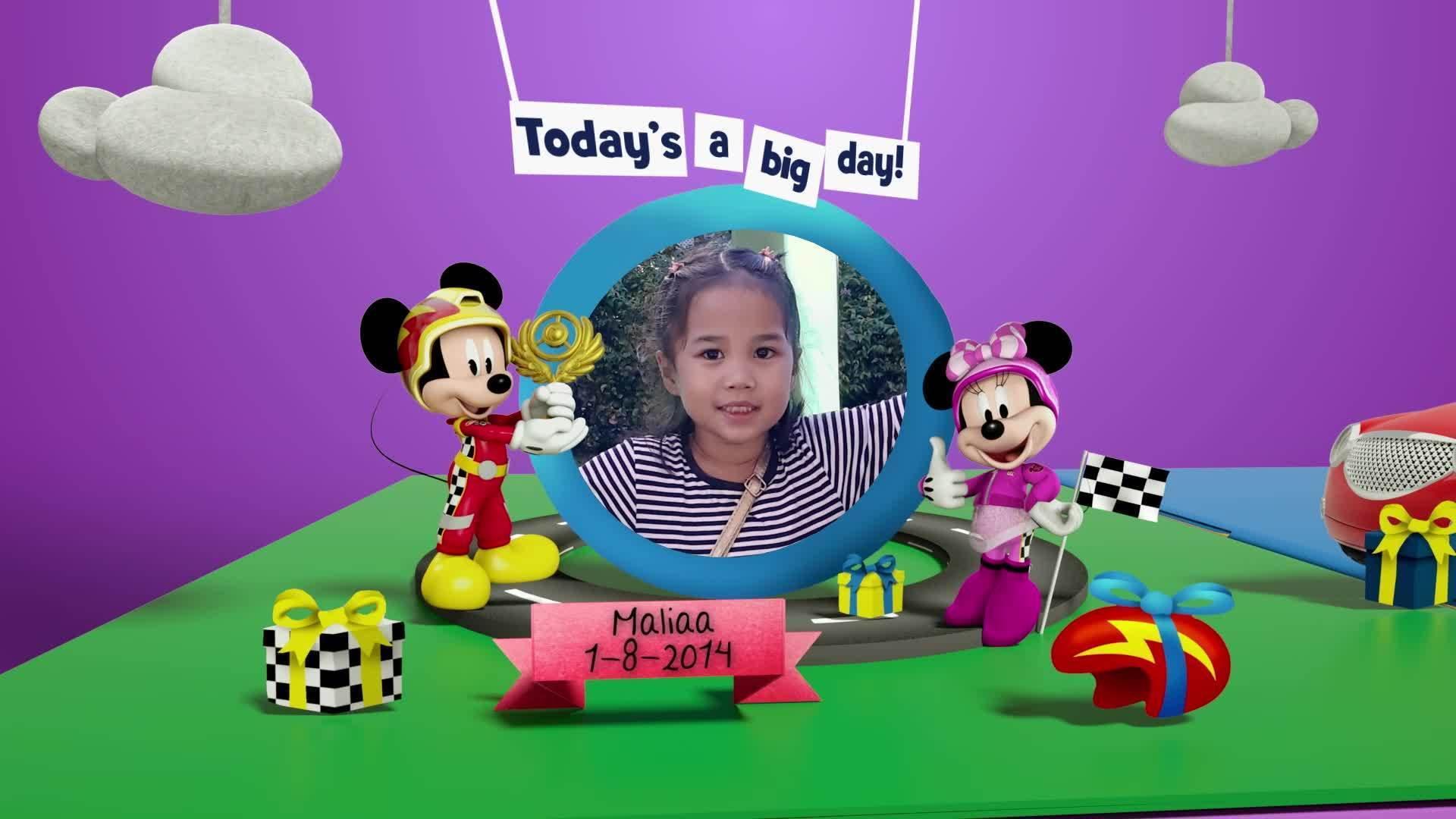 Disney Junior Birthday Book 2021 August Album 9