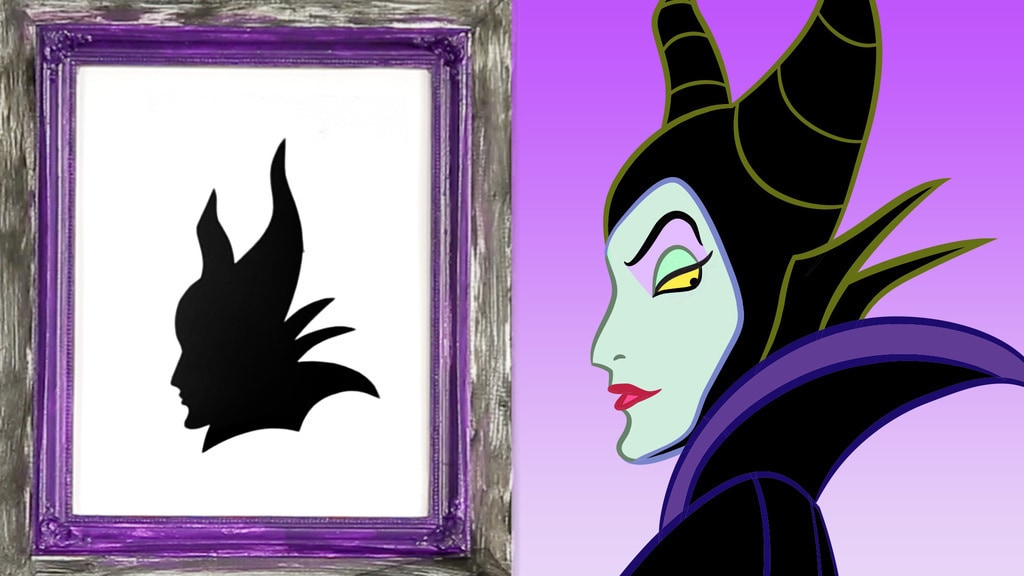 Villain Halloween Silhouettes | Disney DIY