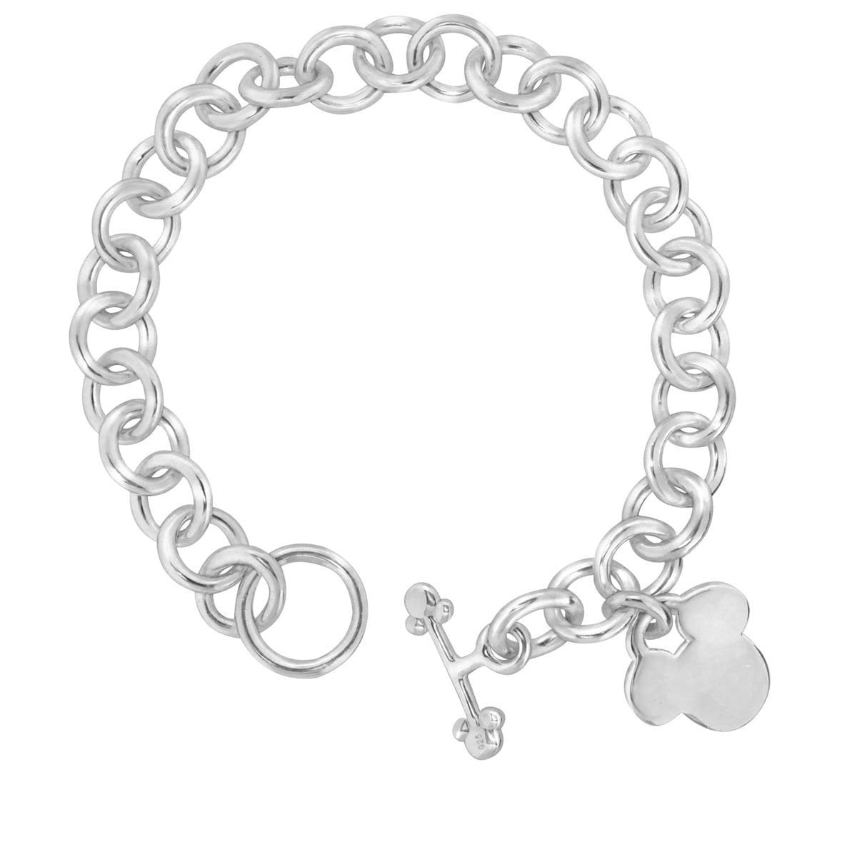 Product Image Of Mickey Mouse Icon Charm Bracelet Disney Designer Jewelry Collection 1
