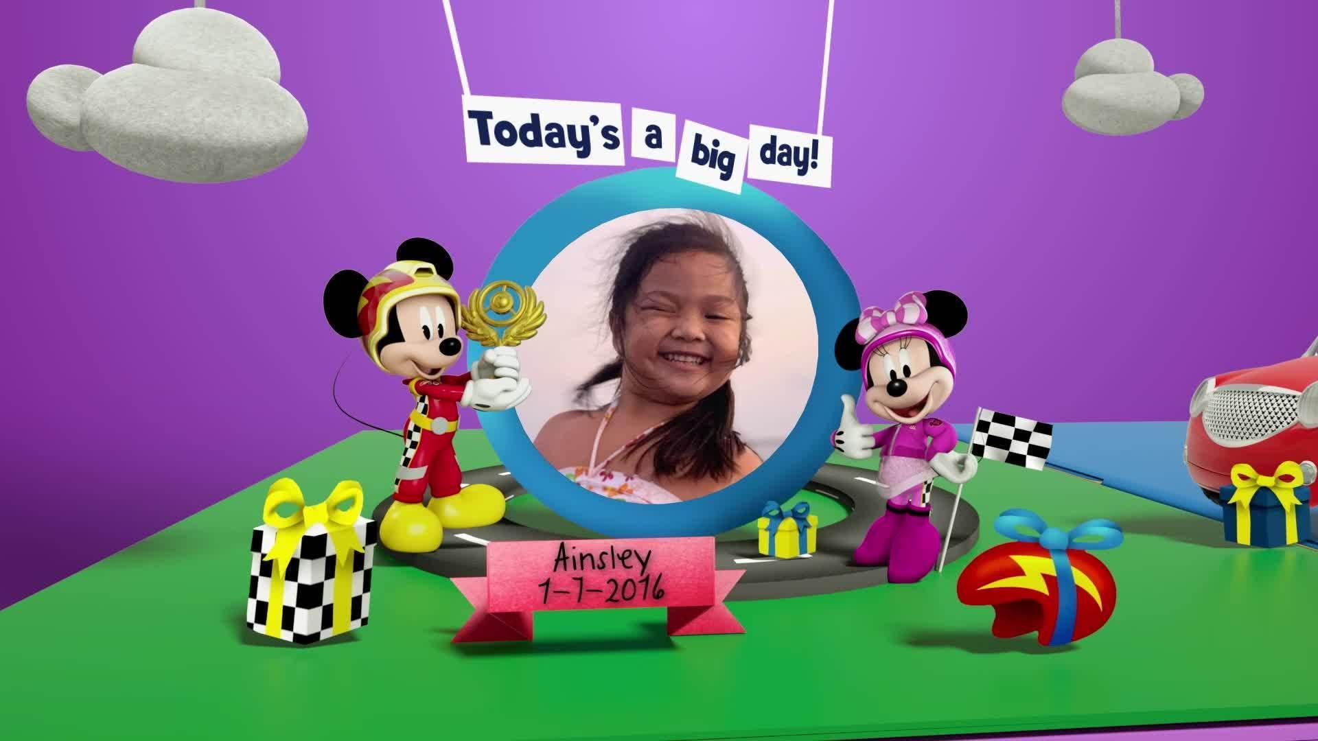 Disney Junior Birthday Book 2021 July Album 6
