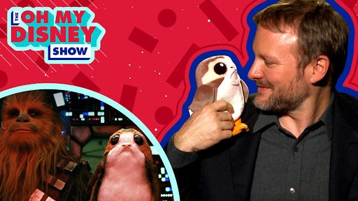 Rian Johnson on Directing Star Wars: The Last Jedi and Being a Super Fan | Oh My Disney Show