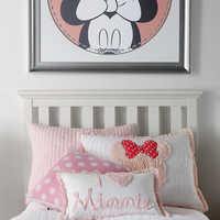 Image of Minnie Mouse Really Ruffle Boudoir Pillow by Ethan Allen # 4