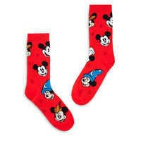 Image of Mickey Mouse ''Through the Years'' Socks for Adults # 1