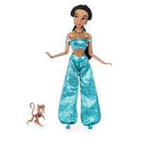 Jasmine Classic Doll with Abu Figure - 11 1/2''