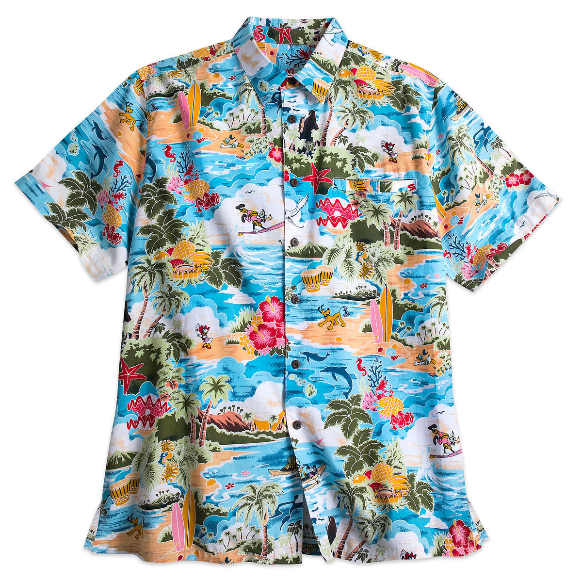 Mickey Mouse And Friends Hawaiian Shirt For Men Shopdisney