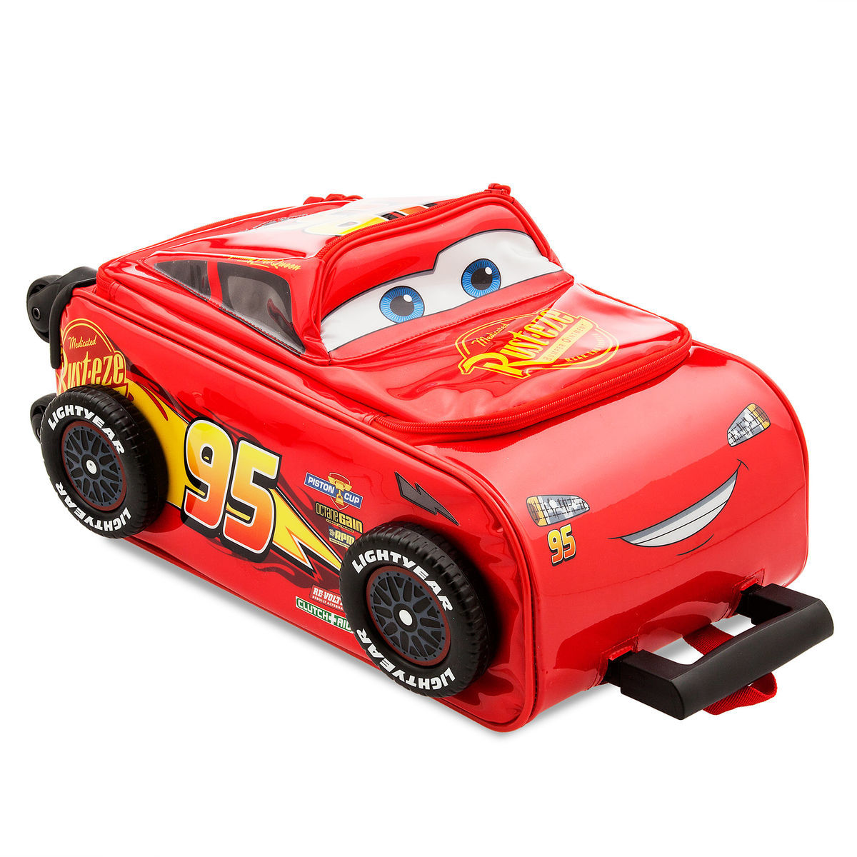 Product Image of Lightning McQueen Rolling Luggage - Cars 3   3 47b89ec12