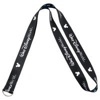 Image of Reversible Walt Disney World Mickey Mouse Lanyard # 1