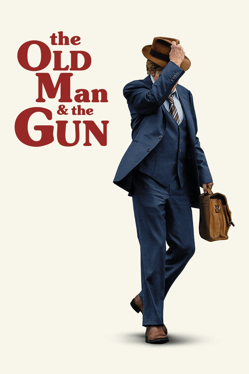 The Old Man & The Gun movie poster