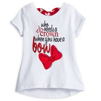 Image of Minnie Mouse Tutu Tee for Girls # 1