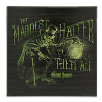 Image of Hatbox Ghost Sign - The Haunted Mansion - Disneyland # 1