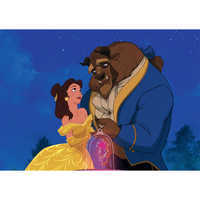 Image of ''Beauty and the Beast Dancing'' Giclé # 11