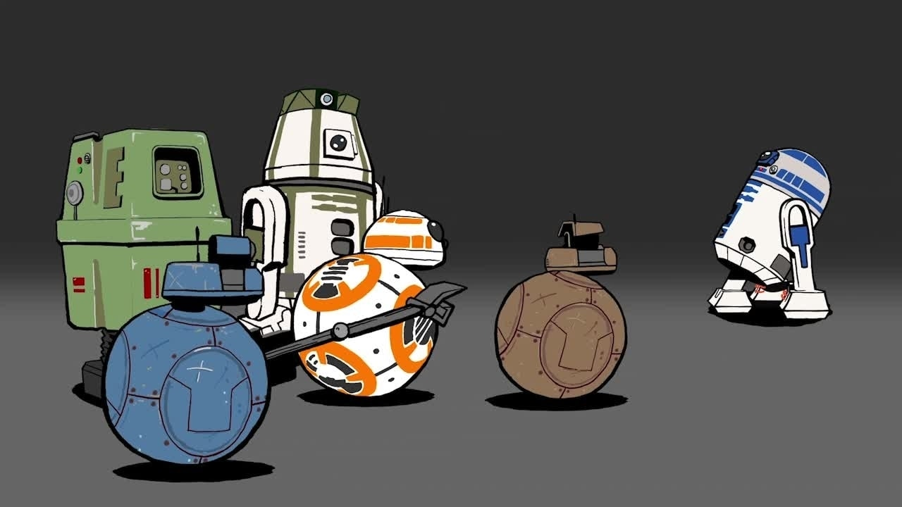 Star Wars: Blips - Fan Droids