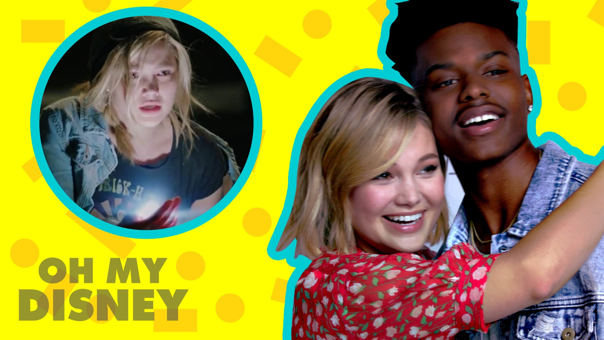 Cloak and Dagger Try to Read Each Other's Minds | Oh My Disney