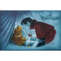 Image of Sleeping Beauty ''Awaking the Beauty'' Giclée by Noah # 1
