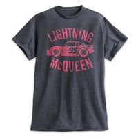 Lightning McQueen Heathered Tee for Men - Cars 3