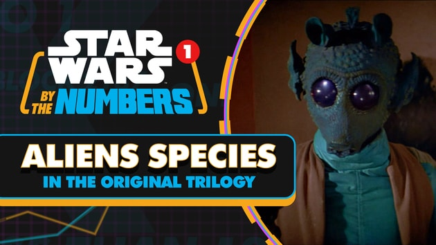 Every Alien Species in the Original Trilogy | Star Wars By the Numbers