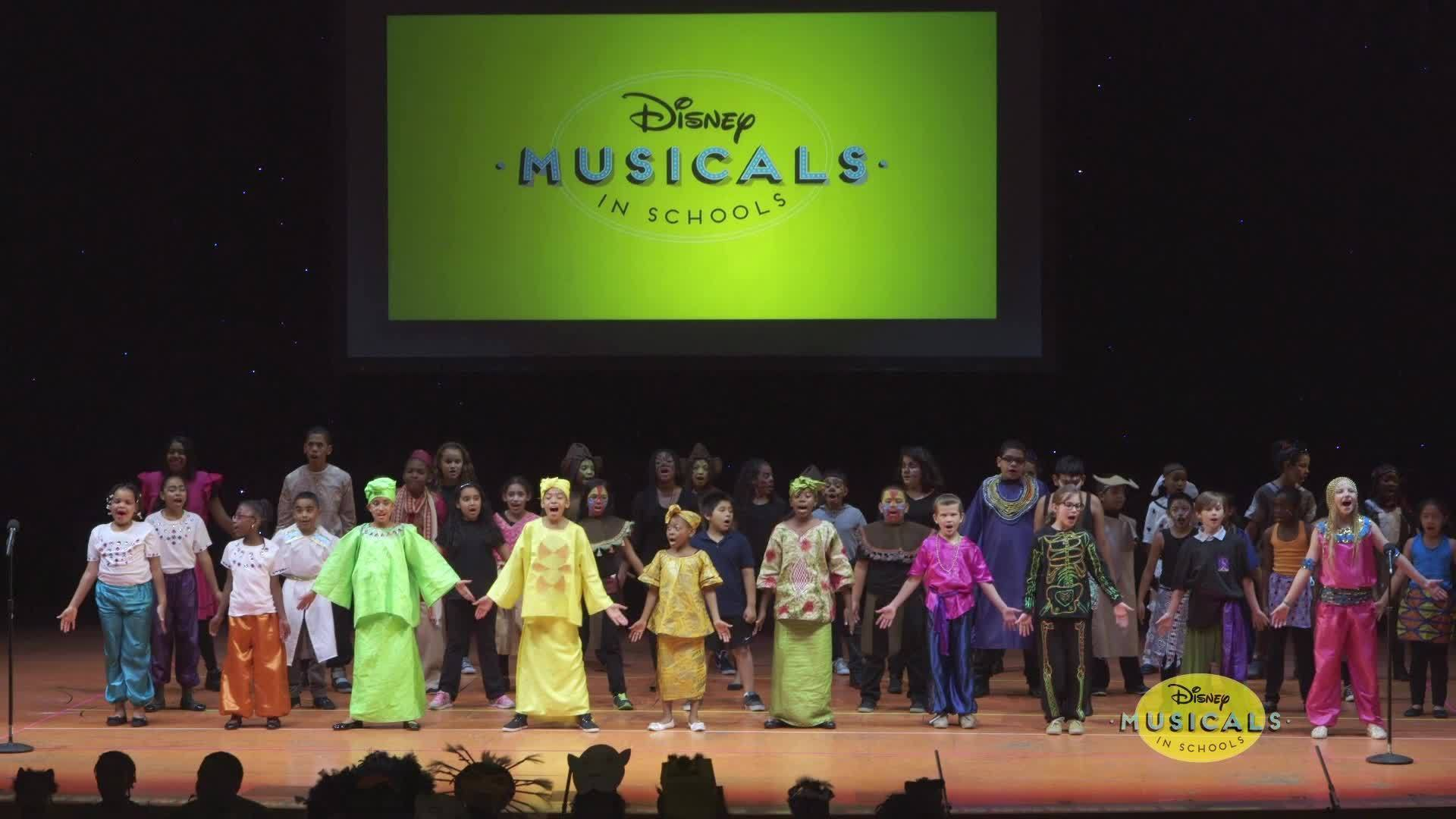 Disney Musicals in Schools Student Share