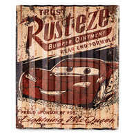 Image of Rust-eze Metal Sign - Cars # 1
