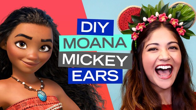 Moana Inspired Mickey Ears DIY | Disney Style