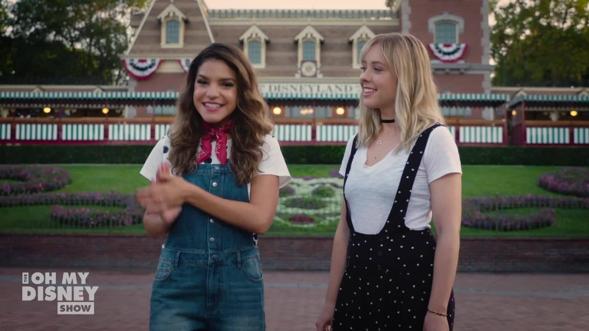Disneyland Railroad with Ashley Nicole | Oh My Disney