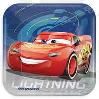 Image of Cars 3 Lunch Plates # 1