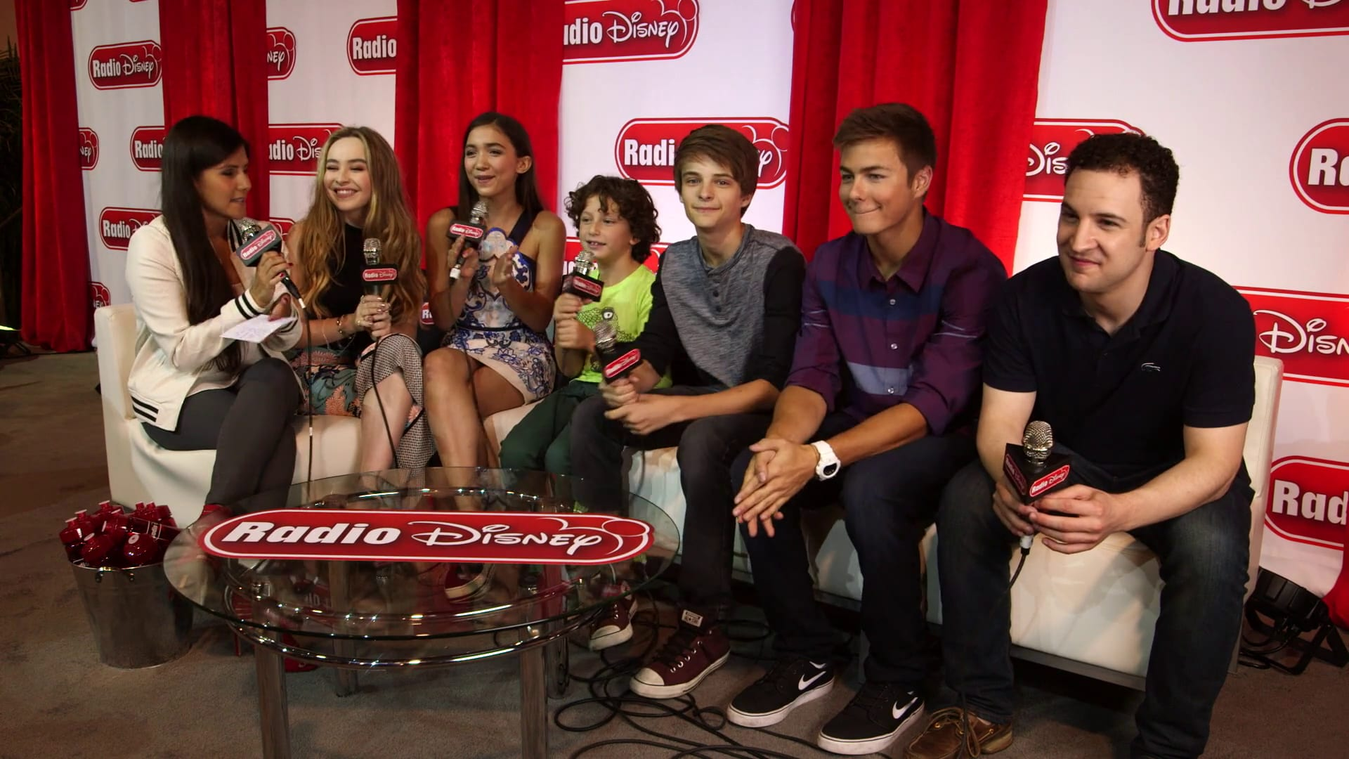Cast of Girl Meets World at D23 Expo 2015 - Radio Disney