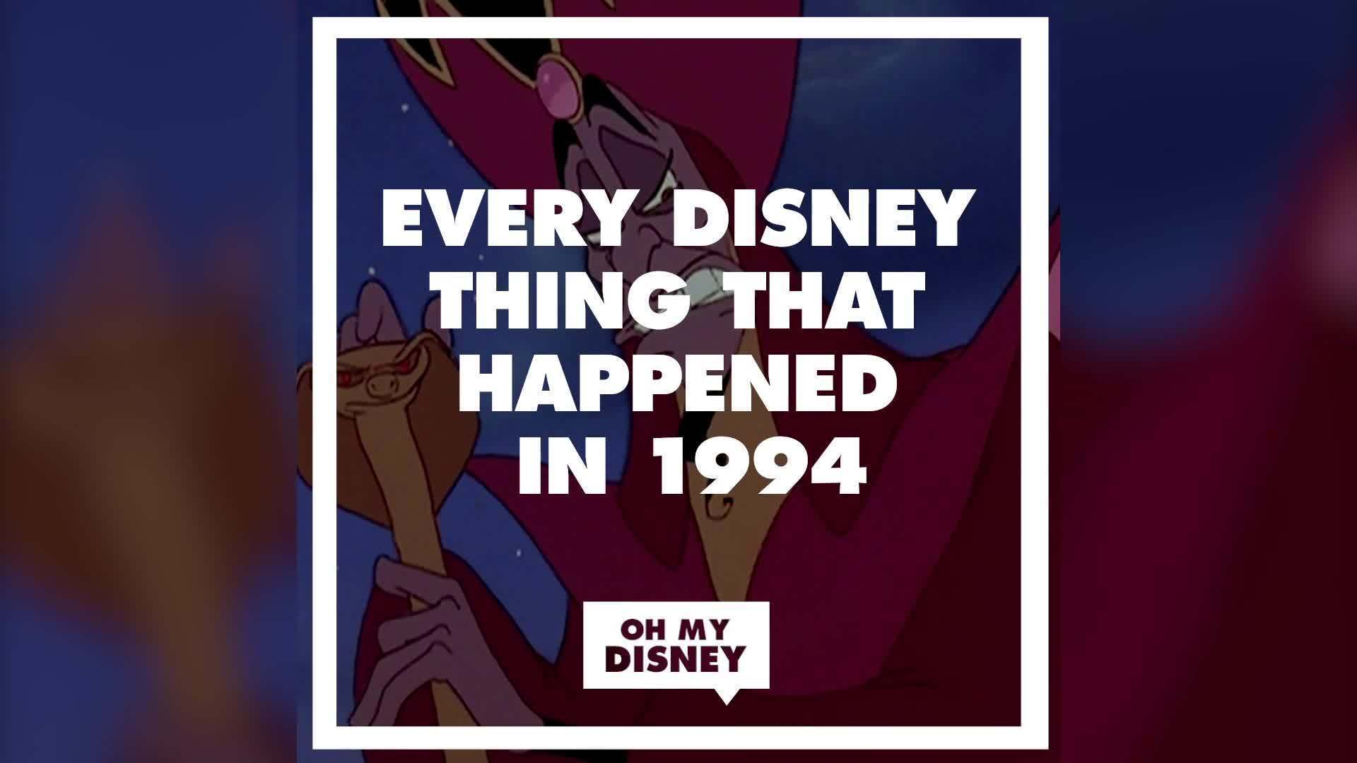 Every Disney Thing That Happened in 1994 | Oh My Disney