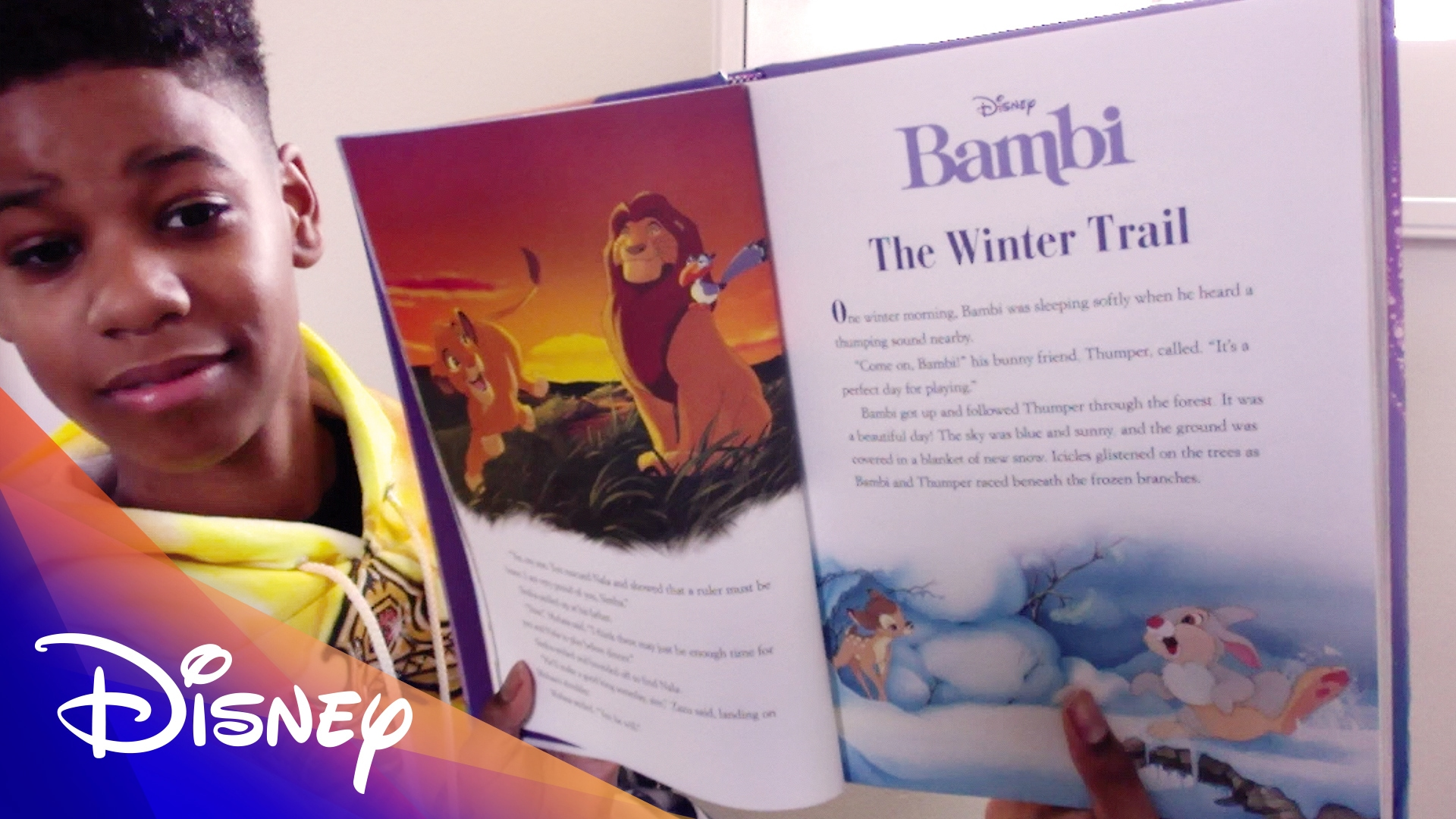Storytime with JD McCrary | Disney