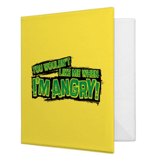 Hulk 3-Ring Binder - Customizable