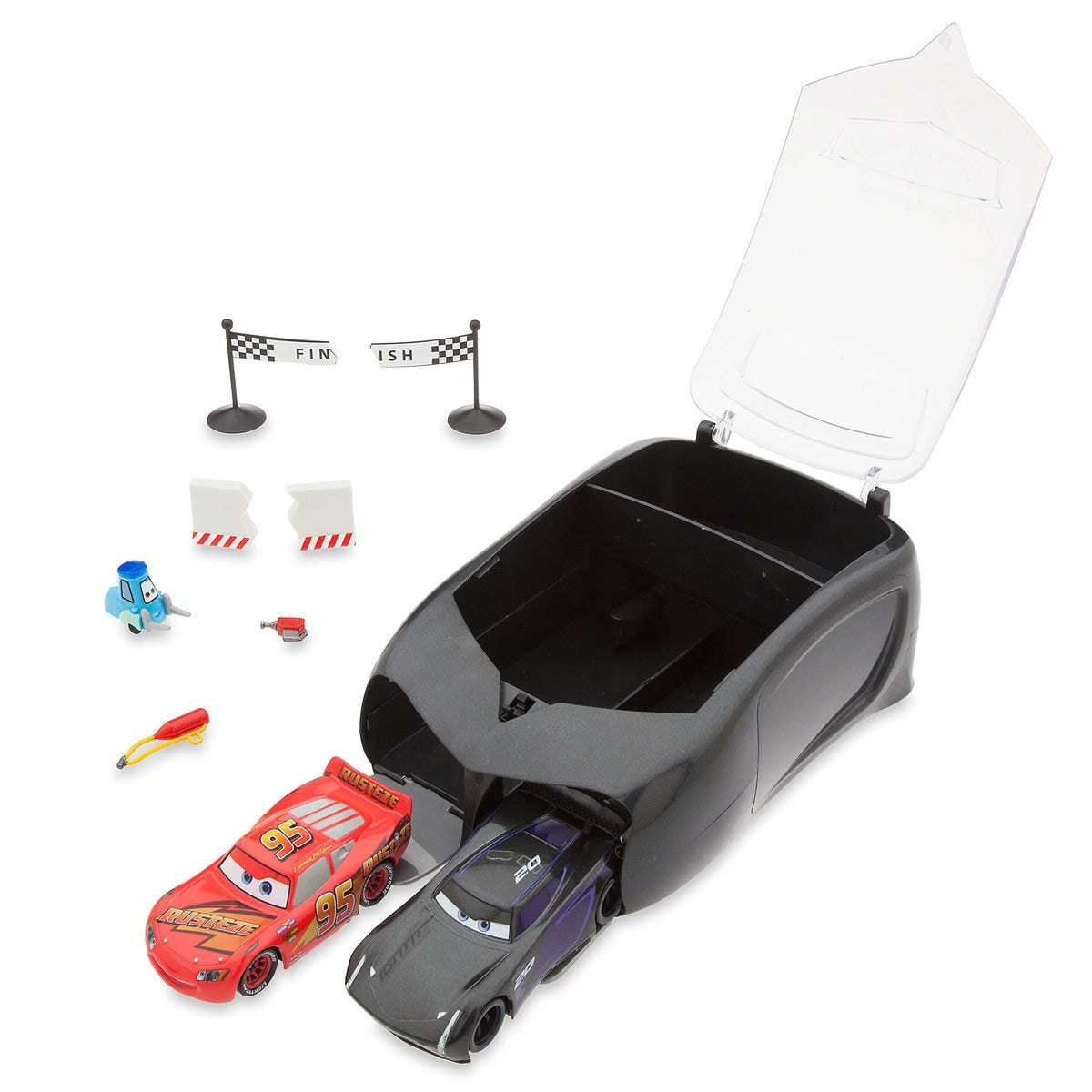 Pit Crew Launcher Set Cars 3 Shopdisney