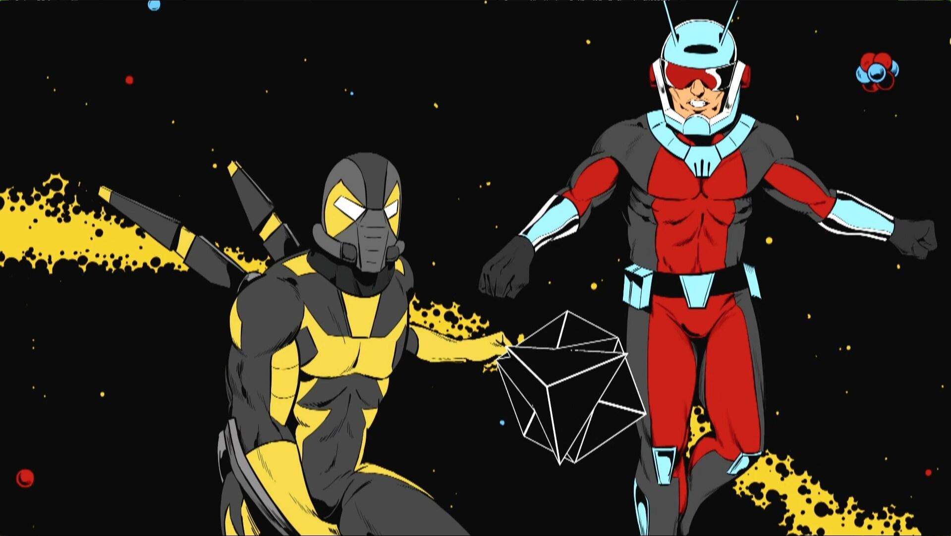 Ant-Man y el cubo de protones