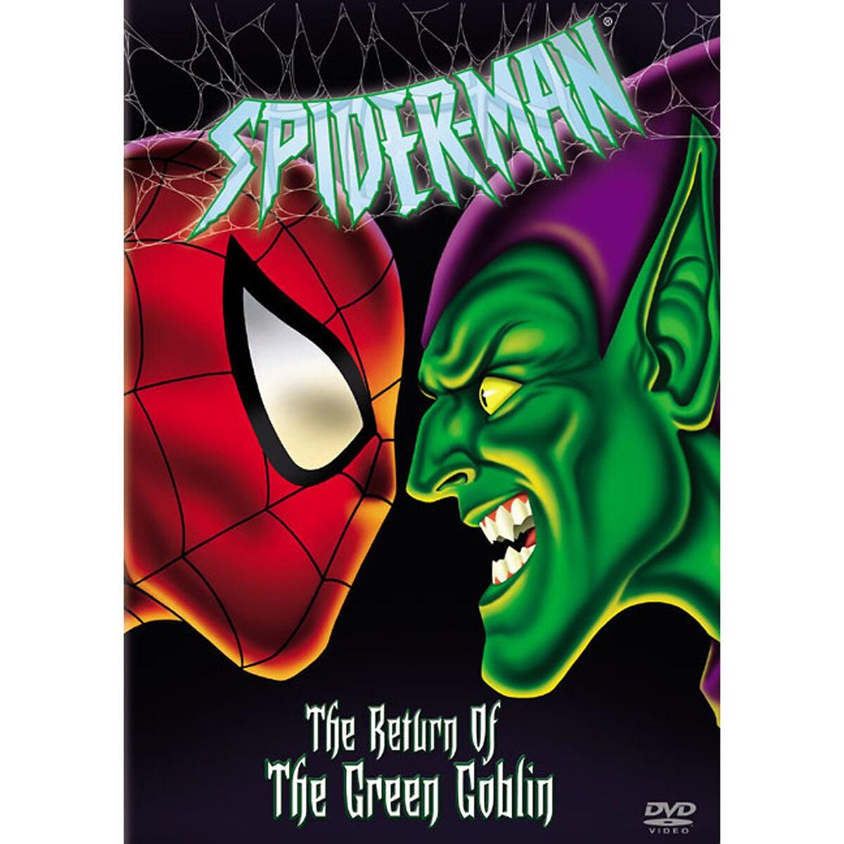 spider man the return of the green goblin dvd shopdisney